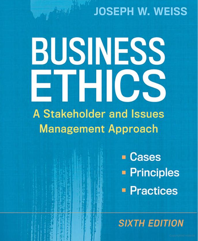 Business ethics brief